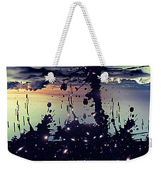 Weekender Tote Bag featuring the photograph Cosmic Resoance No 3 by Robert G Kernodle