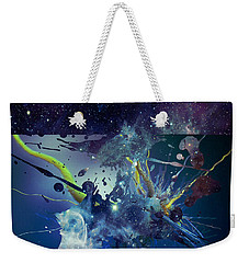 Weekender Tote Bag featuring the photograph Cosmic Resonance No 1 by Robert G Kernodle