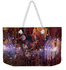Weekender Tote Bag featuring the photograph Cosmic Resonance No 2 by Robert G Kernodle