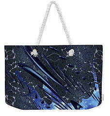Weekender Tote Bag featuring the photograph Cosmic Resonance No 5 by Robert G Kernodle