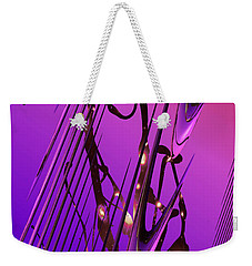 Weekender Tote Bag featuring the photograph Cosmic Resonance No 6 by Robert G Kernodle