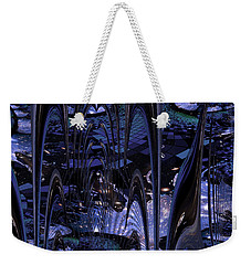 Weekender Tote Bag featuring the photograph Cosmic Resonance No 8 by Robert G Kernodle