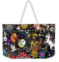 Cosmic Smiles Weekender Tote Bag