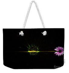 Cosmic Splash Weekender Tote Bag by Fei A