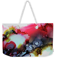 Cosmic Weekender Tote Bag by Tracy Male