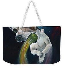 Cosmojo Weekender Tote Bag by Claudia Goodell