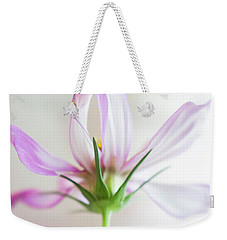 Weekender Tote Bag featuring the photograph Cosmos 3 by Elena Nosyreva