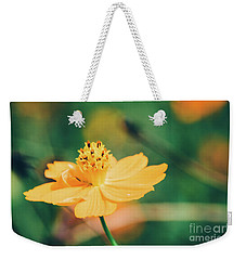 Weekender Tote Bag featuring the photograph Cosmos  by Andrea Anderegg