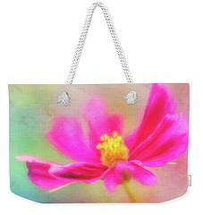 Cosmos Flowers Love To Dance Weekender Tote Bag