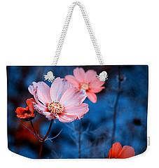 Cosmos  Weekender Tote Bag by Rachel Mirror