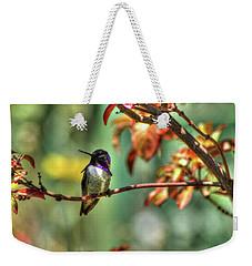 Costa's Hummingbird Weekender Tote Bag by Richard Stephen
