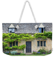 Weekender Tote Bag featuring the photograph Cotswolds Cottage Home II by Brian Jannsen