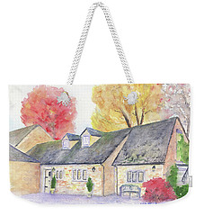 Cotswolds Cottage Weekender Tote Bag