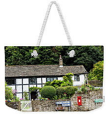 Traditional Cheshire Cottage At The Crossroad Weekender Tote Bag