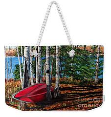 Cottage Country 2 Weekender Tote Bag