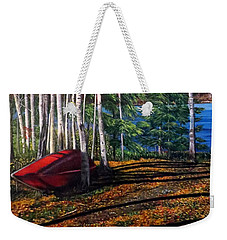 Cottage Country Weekender Tote Bag by Marilyn McNish