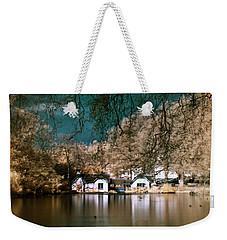 Cottage On The Lake Weekender Tote Bag