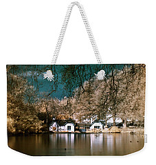 Cottage On The Lake Weekender Tote Bag