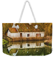 Cottage Reflection Weekender Tote Bag