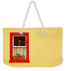 Cottage Window Weekender Tote Bag