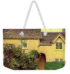 Cottage With A Picket Fence Weekender Tote Bag by Jill Battaglia