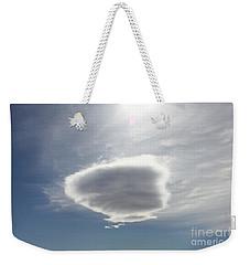 Cotton Baton Cloud Weekender Tote Bag