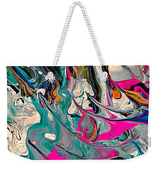 Cotton Candy Circus Weekender Tote Bag