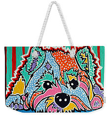 Cotton Candy Weekender Tote Bag by Jackie Carpenter