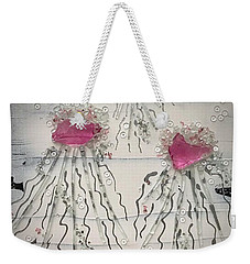 Cotton Candy Jelly-fish Weekender Tote Bag