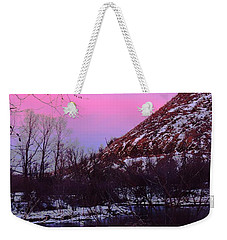 Cotton Candy On The Kittatinny Weekender Tote Bag