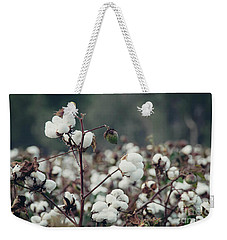 Cotton Field 5 Weekender Tote Bag