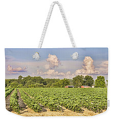 Cotton Hasn't Flowered Yet Weekender Tote Bag