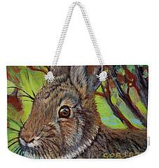 Cotton Tail Rabbit Weekender Tote Bag