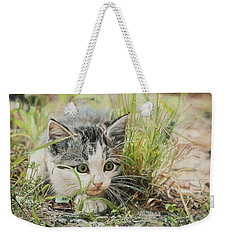 Cotton The Kitten Weekender Tote Bag