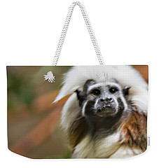 Cotton-top Tamarin _ 1a Weekender Tote Bag