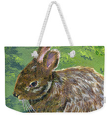 Cottontail Weekender Tote Bag