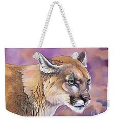Cougar, Catamount, Mountain Lion, Puma Weekender Tote Bag