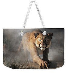 Cougar Is Gonna Get You Weekender Tote Bag by Daniel Eskridge
