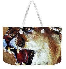 Cougar Weekender Tote Bag by J W Baker