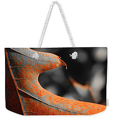 Cougar Rusty Leaf Detail Weekender Tote Bag