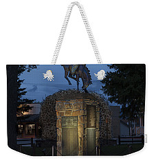 Coulter Memorial, Jackson, Wyoming Weekender Tote Bag