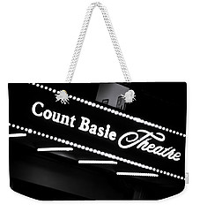 Count Basie Theatre In Lights Weekender Tote Bag