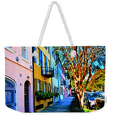 Weekender Tote Bag featuring the photograph Count Your Rainbows by Lisa Wooten