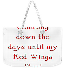Counting The Days 1 Weekender Tote Bag by Andee Design