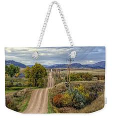 Country Autumn Weekender Tote Bag by Fiskr Larsen