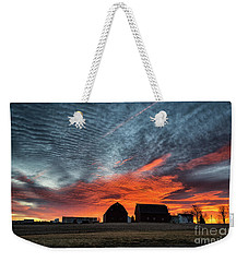 Country Barns Sunrise Weekender Tote Bag