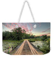 Country Bridges Weekender Tote Bag by JC Findley