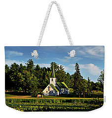 Country Church 003 Weekender Tote Bag by George Bostian