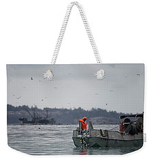 Weekender Tote Bag featuring the photograph Country Club by Randy Hall