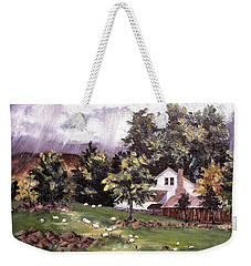 Country Cottage Weekender Tote Bag